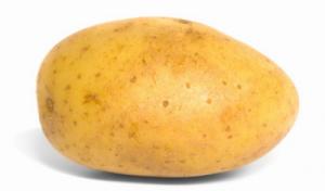 Worm in Potato Probably a Tuberworm